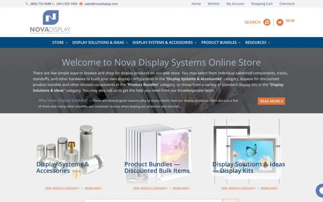 Nova Display eCommerce